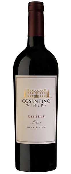 2016 Cosentino Winery Reserve Merlot, Napa Valley, 750ml