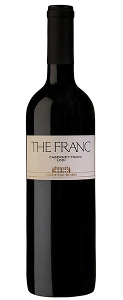 2016 Cosentino Winery THE FRANC, Lodi, 750ml