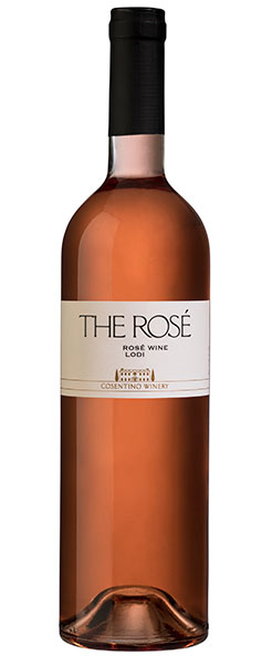 2016 Cosentino Winery THE Rose, Lodi, 750ml