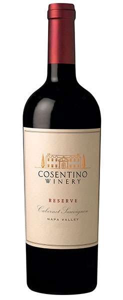 2015 Cosentino Winery Reserve Cabernet Sauvignon, Napa Valley, 750ml
