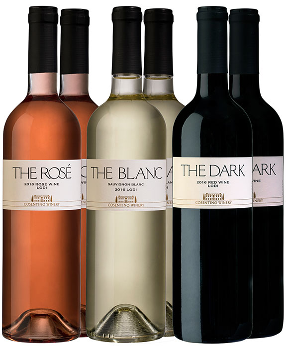 Cosentino THE Red, White & Rose 6-Pack