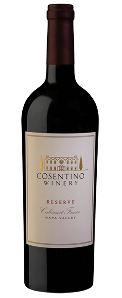 2015 Cosentino Winery Reserve Cabernet Franc, Napa Valley 750ml